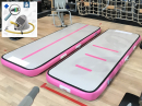 3m 15cm pink AirTrack Air Track gym floor voetpomp