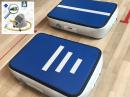 20cm high blue AirTrack Air Board Block