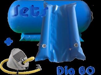 inflatable Airgymnast roll back handspring trainer