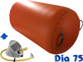 Air gymnast impuls cilinder Dia 75x120 cm oranje