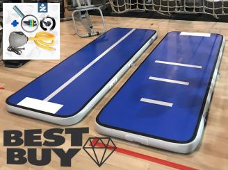 3m blue AirTrack Air Track gym track & mini-blower