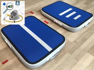 10cm high blue Airboard AirTrack Air Board Block